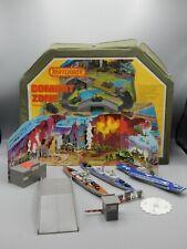 1976 Vintage Matchbox Sea Kings w/ Combat Zone playcase Battleship Destroyer !
