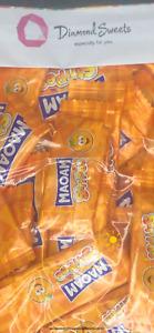 1 bag of 50 HARIBO MAOAM STRIPES ORANGE FLAVOUR