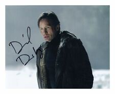 DAVID DUCHOVNY - THE X-FILES AUTOGRAPHED SIGNED A4 PP POSTER PHOTO
