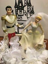 "DISNEY Inspired-Cinderella Cake-Topper-Party-Decoration ""Princess Bride"""