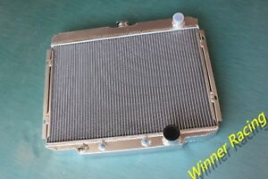 aluminum radiator Ford Mustang,Mercury Cougar 289/302/351 W/AC V8 AT 1967-1969