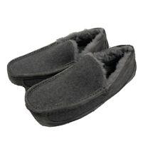 New Ugg Australia Ascot Slipper Grey Size 9 Mens 88276
