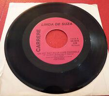 45 RPM Linda De Suza O Malhao Malhao + On Est Fait Pour Vivre Ensemble !