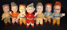 Disney's Knickerbocker Snow White & The Seven Dwarfs - Rare 1938 Complete Set!