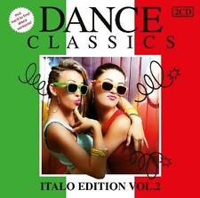 DANCE CLASSICS ITALO EDITION VOL.2 DOCTOR'S CAT/KOTO/SCOTCH/SPAGNA/+  2 CD NEU