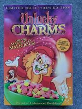 NEW Unlucky Charms Collector's Edition Cereal Box Set Full Moon Horror DVD Rare