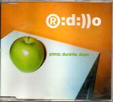 Ridillo – Prima, Durante, Dopo Cd Single 2 Track EX++ 2001