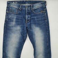 G-Star Stean Tapered 51058 W32 L32 blau Herren Designer Denim Jeans Hose Mode