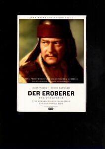 John Wayne  Susan Hayward   DER EROBERER  im Pappschuber  (DVD)