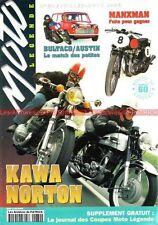 MOTO LEGENDE  60 KAWASAKI 500 Mach 3 Zephyr 750 NORTON 88 BULTACO TSS SUZUKI GS