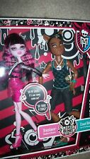 new MUSIC FESTIVAL CLAWD WOLF & Draculaura Dolls Sealed MONSTER HIGH 2 Doll Set