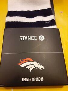 STANCE DENVER BRONCOS L 9-12 US SOCKS NAVY