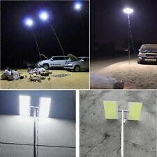 Portable Telescopic COB Rod LED Spotlight Work Light Fishing Outdoor Camping