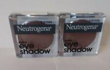 TWO (2) NEW Neutrogena Satin Eye Shadow 0.1 Oz (3g) Each DESERT ROSE 40