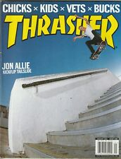 Thrasher Skateboard Magazine #289 January 2005