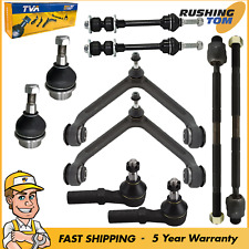 10Pc Kit Ball Joint Tie Rod Control Arm Sway Bar fits 2002-2005 Dodge RAM 1500
