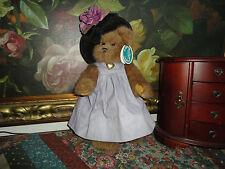 Bearington Bears Sophie Purple Dress Item 1306 w Tags 14 inch Retired Bear