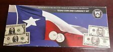 2003-2004 Treasury and BEP Texas Coin and Currency Set in Original Packaging