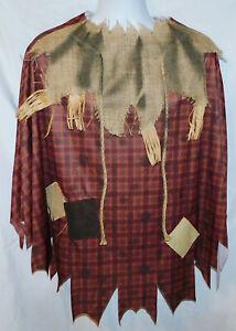 VGC Unisex Spirit Halloween Scarecrow Costume - One Size Fits Most