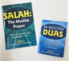 Salah: The Muslim Prayer / 99 Selected Duas - 2 Booklets (IDCI - Paperback)