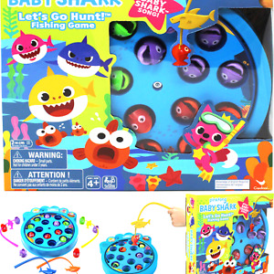 Pinkfong Baby Shark Let's Go Hunt Musical Fishing Game, for Families and Kids...