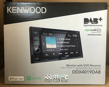 "Kenwood Car CD DVD USB Double Din Stereo Bluetooth iPhone 6.2"" DAB Radio NEW"