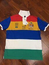 Hackett chemise polo Multi Rayure panneaux - britannique POLO Jour INDE XL