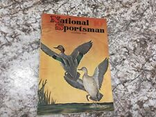 Vintage National Sportsman Mag Thanksgiving Hunting November 1940