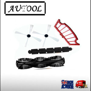 Filter + Side Brushes For Kogan R30 Aldi Robot A320 KV8 Robot Vacuum cleaner
