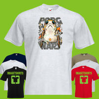 porg Wars Starwars Star Wars Mens PRINTED T-SHIRT tshirt DLO