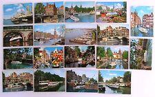 18x AMSTERDAM Holland Niederlande Postkarten mit Schiff Schiffen, Ship Postcards