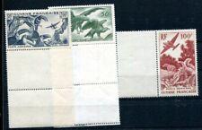 GUYANE 1947 Yvert PA 35-37 ** POSTFRISCH TADELLOS (D5500