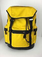 COACH F71884 Trek Pack Backpack Travel Overnight Bag Men's Nylon Banana NWT