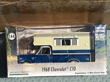 Greenlight  1968 Chevrolet  C10 Truck  w/ Camper  blue & White