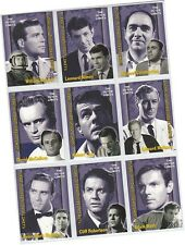 """The Outer Limits Premiere Edition: 9 Card """"Stars"""" Chase Set S1-S9 (2002)"""