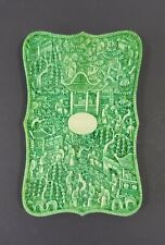 A MASSIVE RARE CHINESE GREEN QUALITY CARD CASE 19TH CENTURY