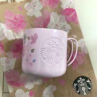 Starbucks Cherry Design SAKURA 2019 Stainless steel Mug Cup NEW 355ml From Japan