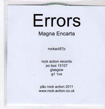 (BO782) Errors, Magna Encarta - 2011 DJ CD