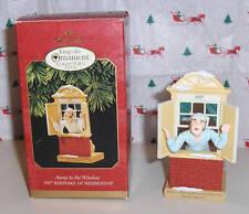 "Hallmark Collector's Club ""Away to the Window""~Membership Ornament~1997"