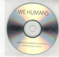 (DV566) We Humans, One In A Million / Axis - DJ CD