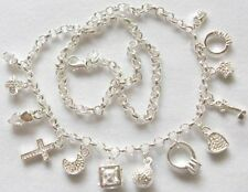 """Sterling Silver """"BLING"""" Necklace"""