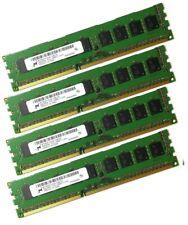 Micron 4x 8GB 32GB DDR3 ECC MT18KSF1G72AZ-1G6E1 RAM UDIMM PC3L-12800E 1600 MHz