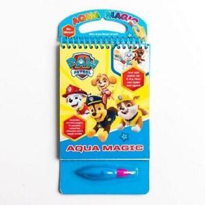 Paw Patrol Aqua Magic Reusable Colouring with Water Book Set Kids Gift