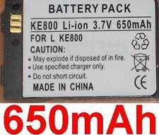 Batterie 650mAh type LGLP-GBDM Pour LG KE800 , LG KG90n