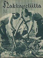 Finland Wartime Magazine Hakkapeliitta 1941 #18 - WWII
