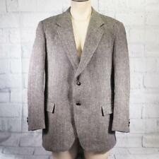 Vintage Harris Tweed Handwoven 100% Scottish Wool Blazer Mens