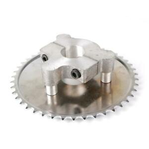 415 44T 44 Tooth Rear Sprocket Adapter Motorized Bicycle Bike 49 50 66 80cc