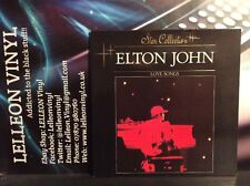Elton John Love Songs Gatefold LP Album Vinyl 814085 Pop 80's *Dutch Release*