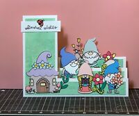 handmade Card Kit Stampin' Up! Gnome Summer Step Card