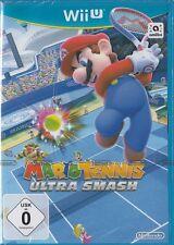 Mario Tennis ULTRA Smash per Nintendo WiiU/WII U NUOVO & OVP versione tedesca
